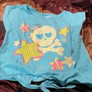 Cute girls skull T-shirt